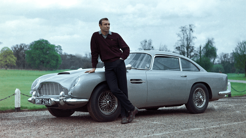 james bond and the aston martin db5