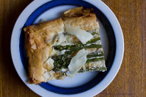 Asparagus Tart | The Answer is Always Pork