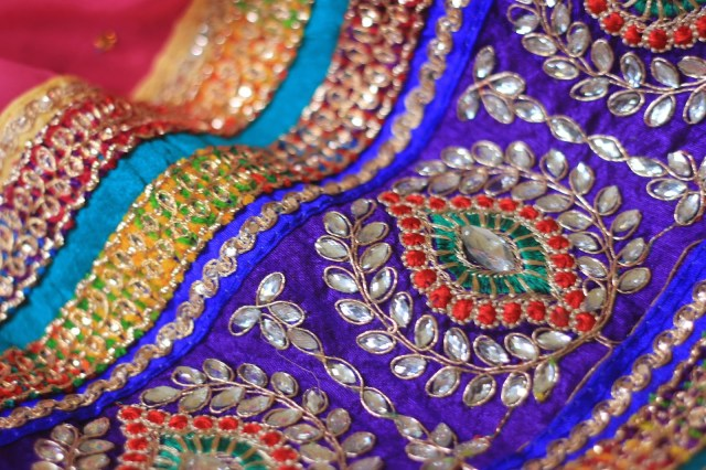 Sari. Indian Clothes