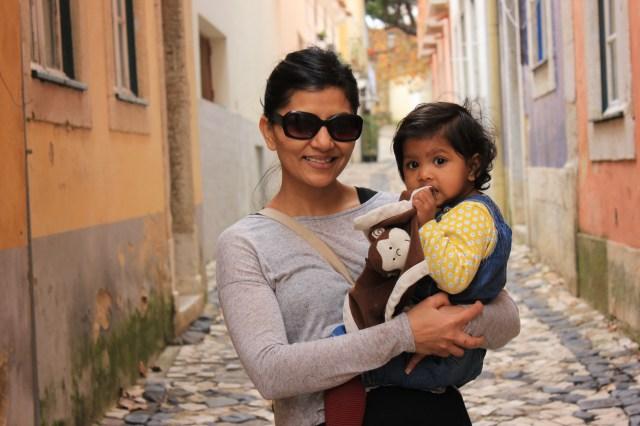 Chika and Asha in Lisbon