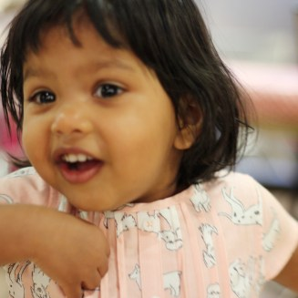 Asha on her 2nd birthday