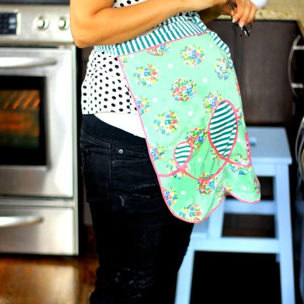 pregnant baking