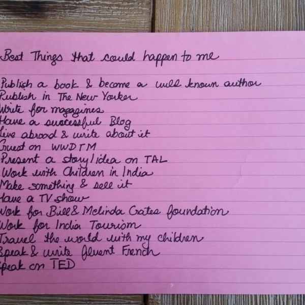Best Things that could happen to me list found.