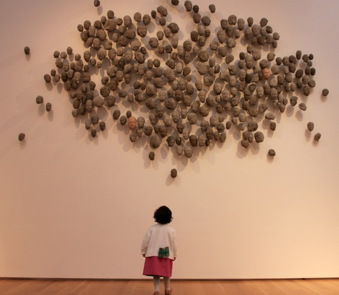Asha at North Carolina Museum of Arts