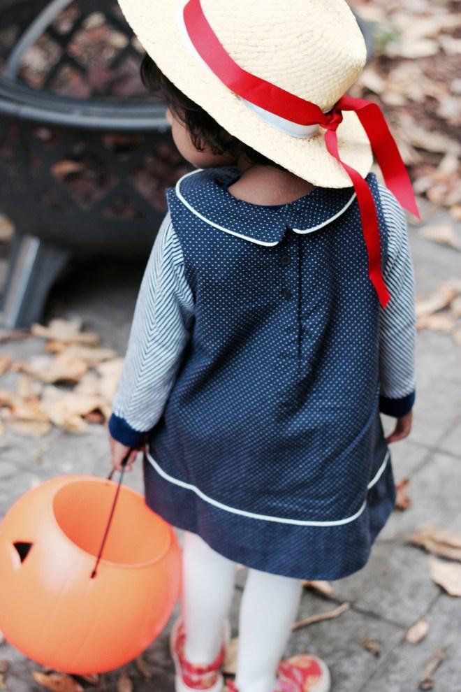 Halloween 2015. Asha as Madeline