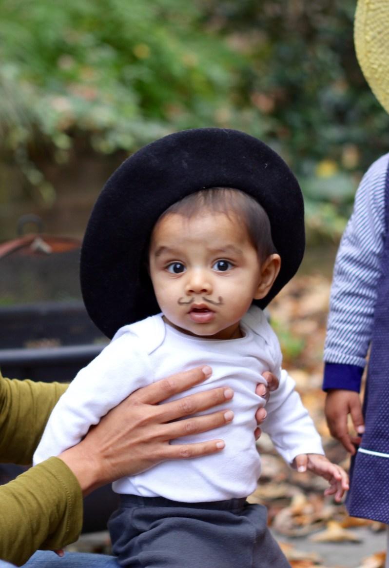 Arjun on halloween