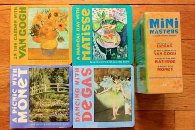 Children's Books - Mini Masters Board Books