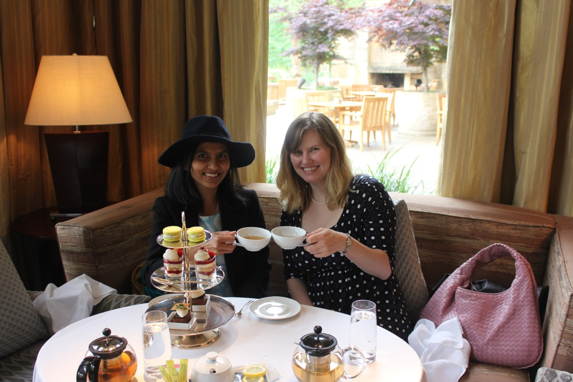 Afternoon Tea At The Umstead Hotel