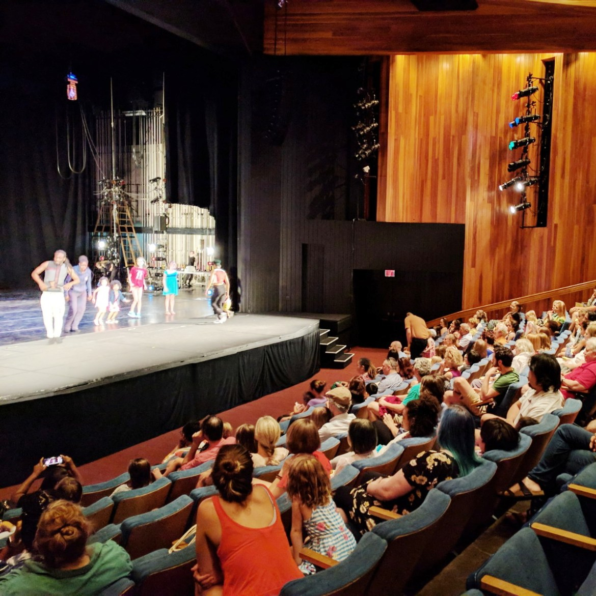 Children's Matinee at the American Dance Festival