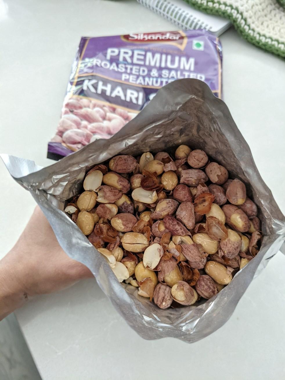 Sikandar Premium Khari Shing snack bag