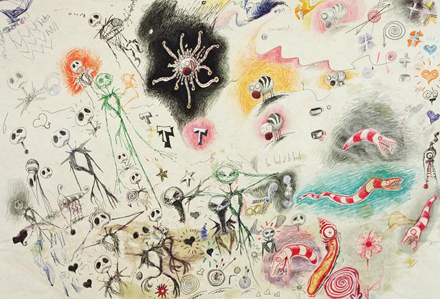 Un peu d'Art #1 :Exposition Tim Burton (5/6)