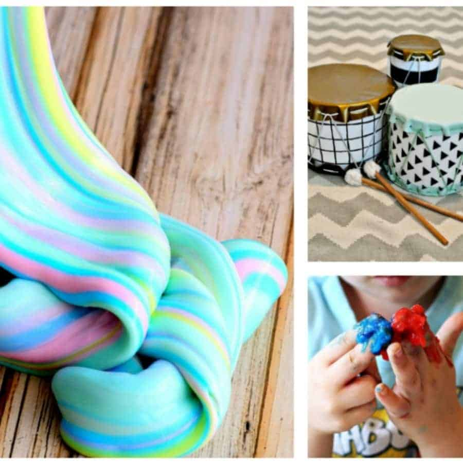 10 Creative Preschooler and Toddler Crafts & Activities {Roundup}