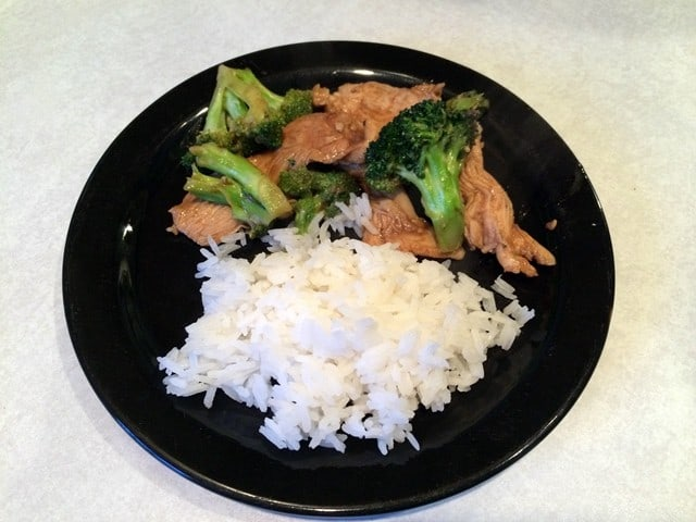 Chinese style chicken (or beef) and broccoli #recipe