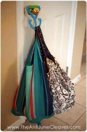 Reusable grocery bags #DEsmarthome