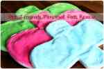 Pink Lemonade Menstrual Pads #review {mama cloth}