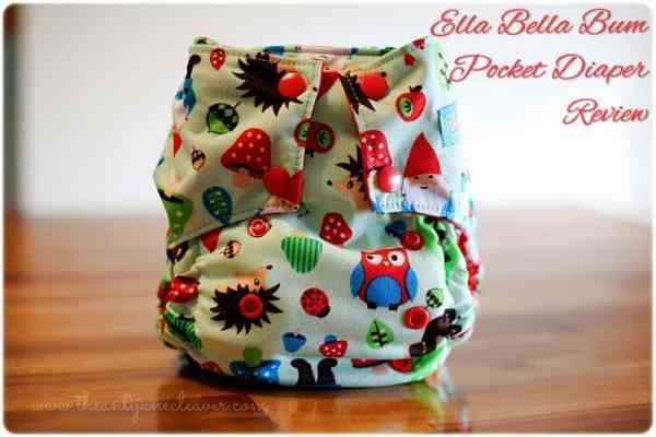 Ella Bella Bum pocket diaper review