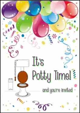 It's Potty Time! {Potty Training Event}