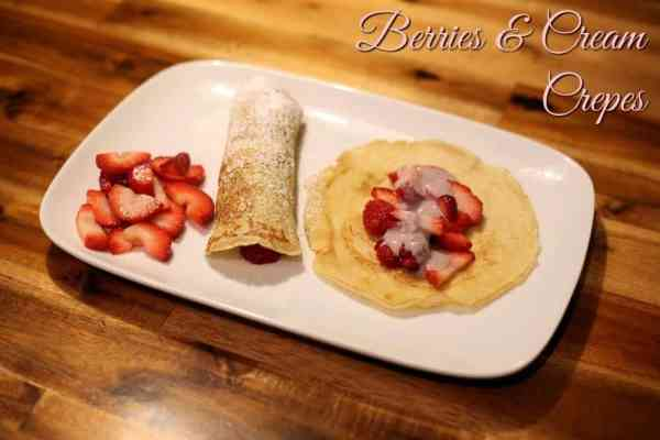 Berries & Cream Crepe Recipe #SpreadTheFlavor #CollectiveBias #shop