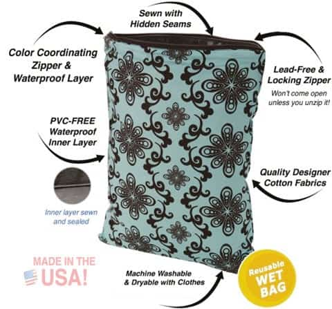 Win a Planet Wise wet bag #clothdiapers #AccessorizeAugust