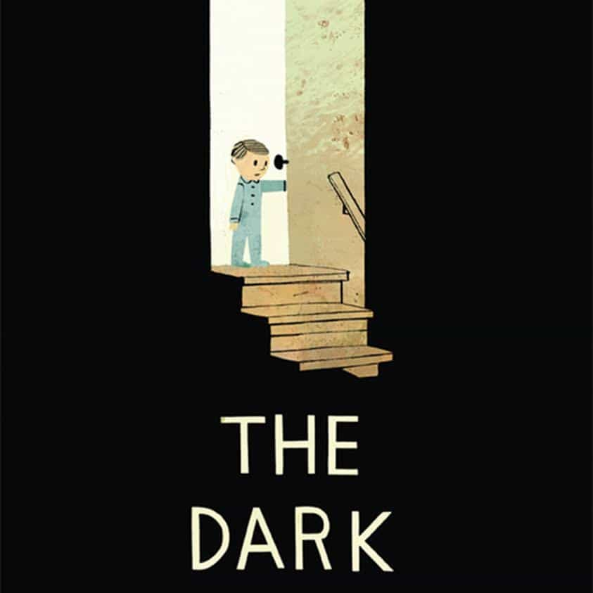 A look in the children's book: The Dark by Lemony Snicket & illustrated by Jon Klassen