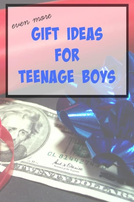 Even more gift ideas for teenage boys