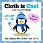 Cloth is Cool Giveaway Hop – Win a Cloth Diaper from Little Monsters