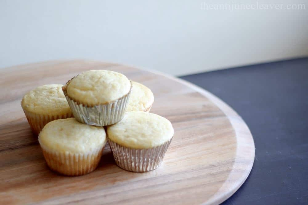 Accidental Banana Cornbread Muffins recipe