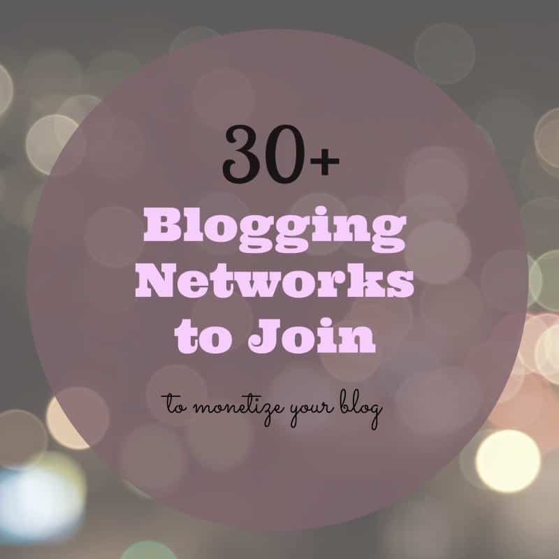 30+ blogging networks to join to monetize your blog