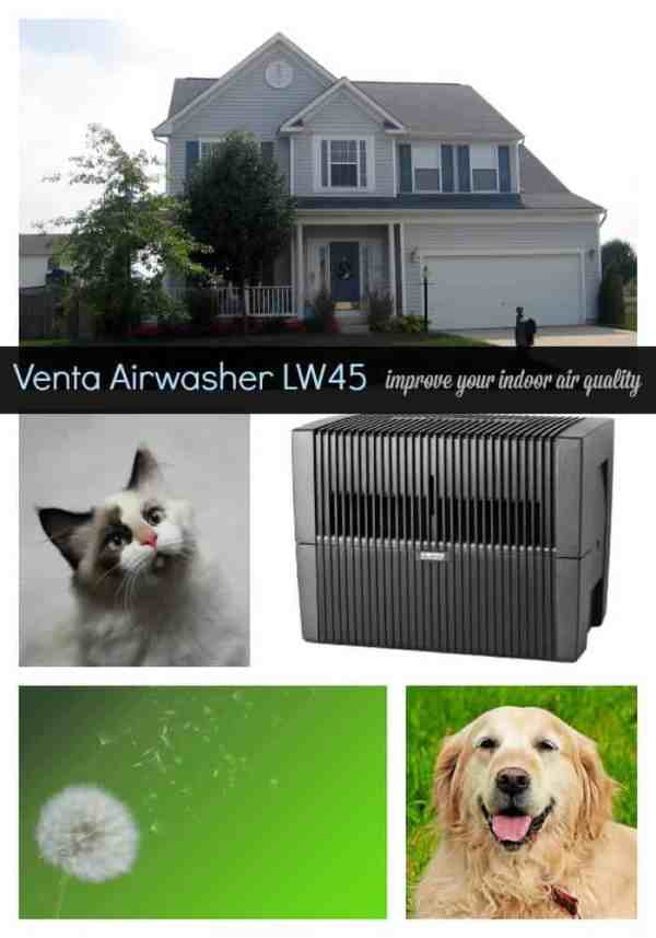 Venta Airwasher LW45 air purifier and humidifier review