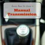 Teaching My Teenage Son How to Drive a Manual Transmission