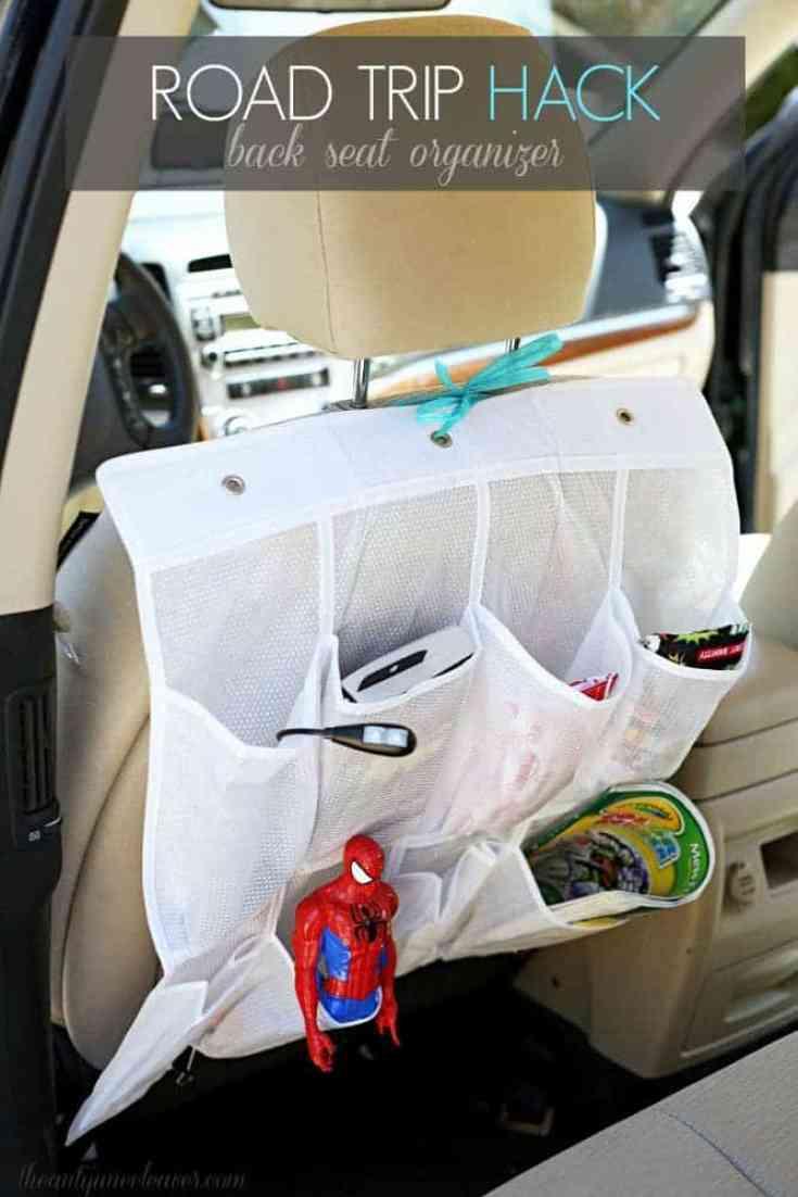 diy car seat storage