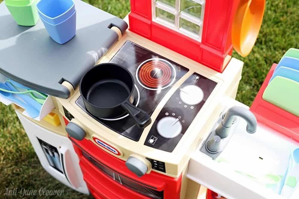 Get Cooking with the Little Tikes Cook 'n Store™ Kitchen
