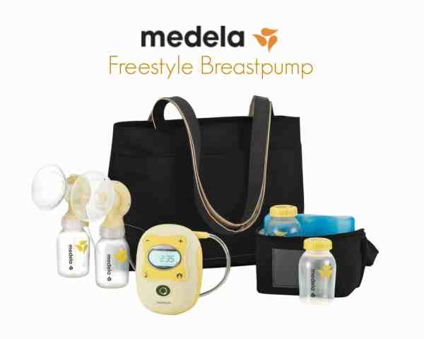 Win a Medela Freestyle Breastpump or a Sweet Pea Cloth Diapers prize pack in the #Ready2POP Giveaway Hop