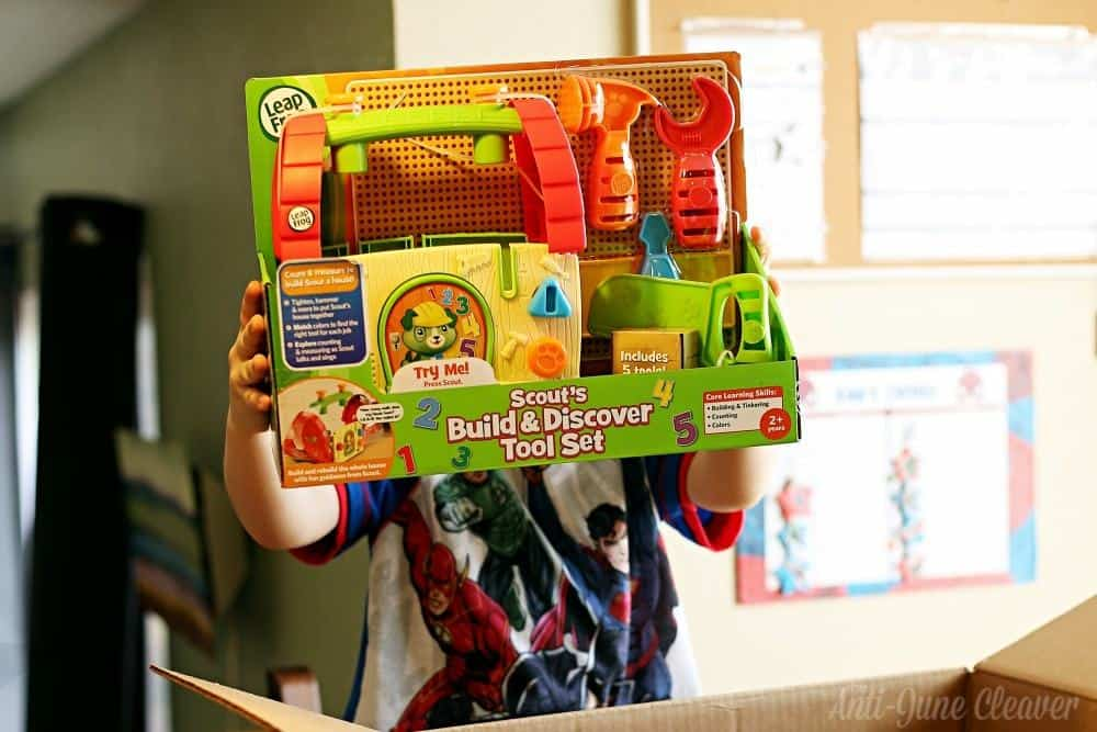 Epic Toys from LeapFrog for Your Holiday List - Scout's Build & Discover Tool Set