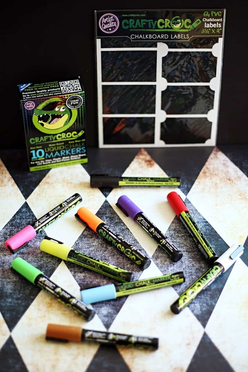 Holiday Gift Guide: Crafty Croc Liquid Chalk Markers & Chalkboard Labels