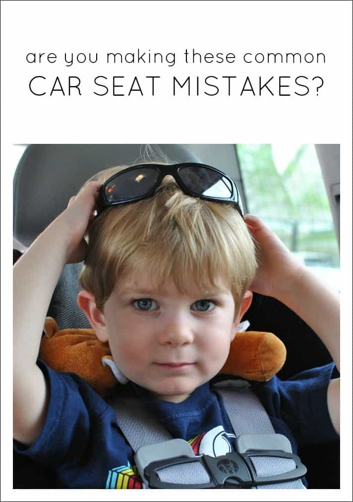 Are You Making These Common Car Seat Mistakes?