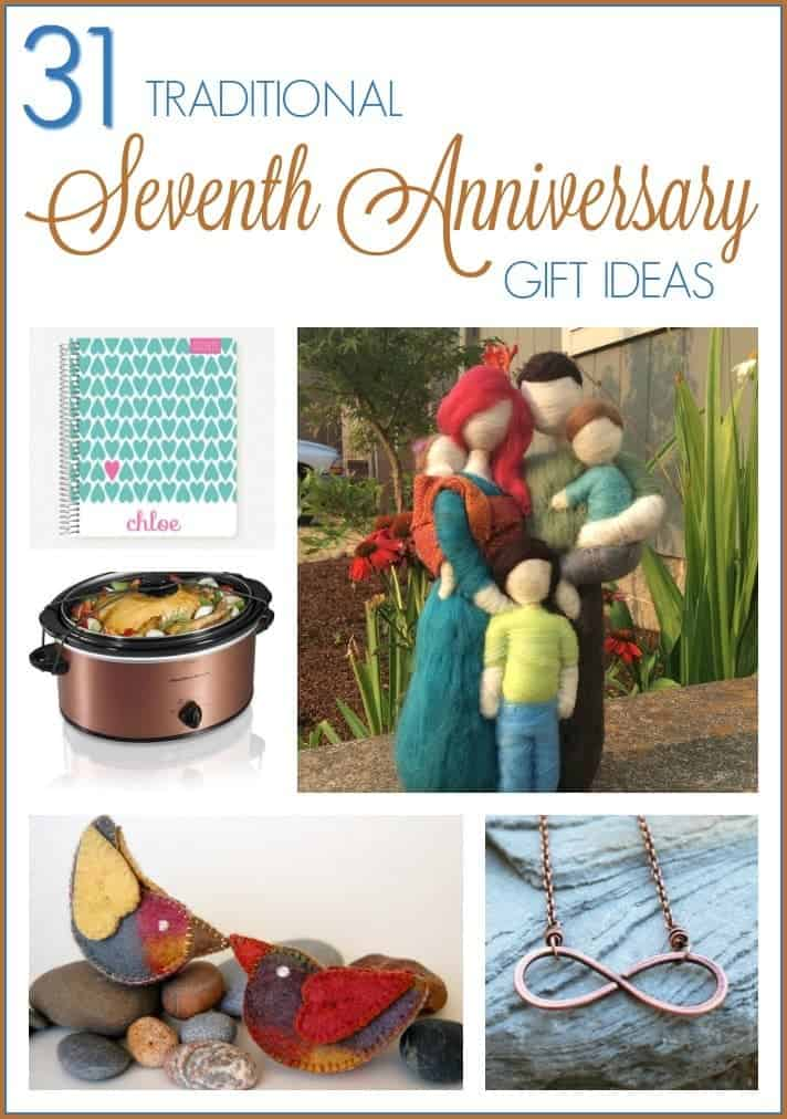 Traditional 7th Wedding Anniversary Gifts: 7th Anniversary Gift Ideas