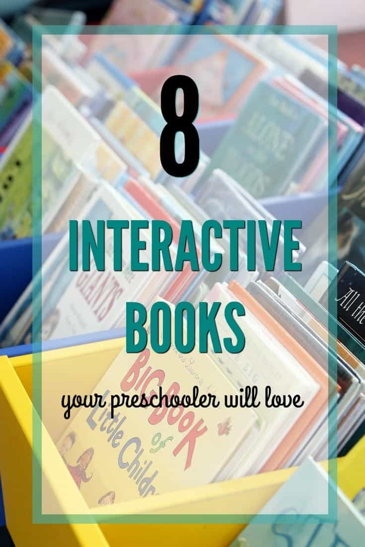 8 Great Interactive Books for Preschoolers {AKA: lf You Like Press Here}
