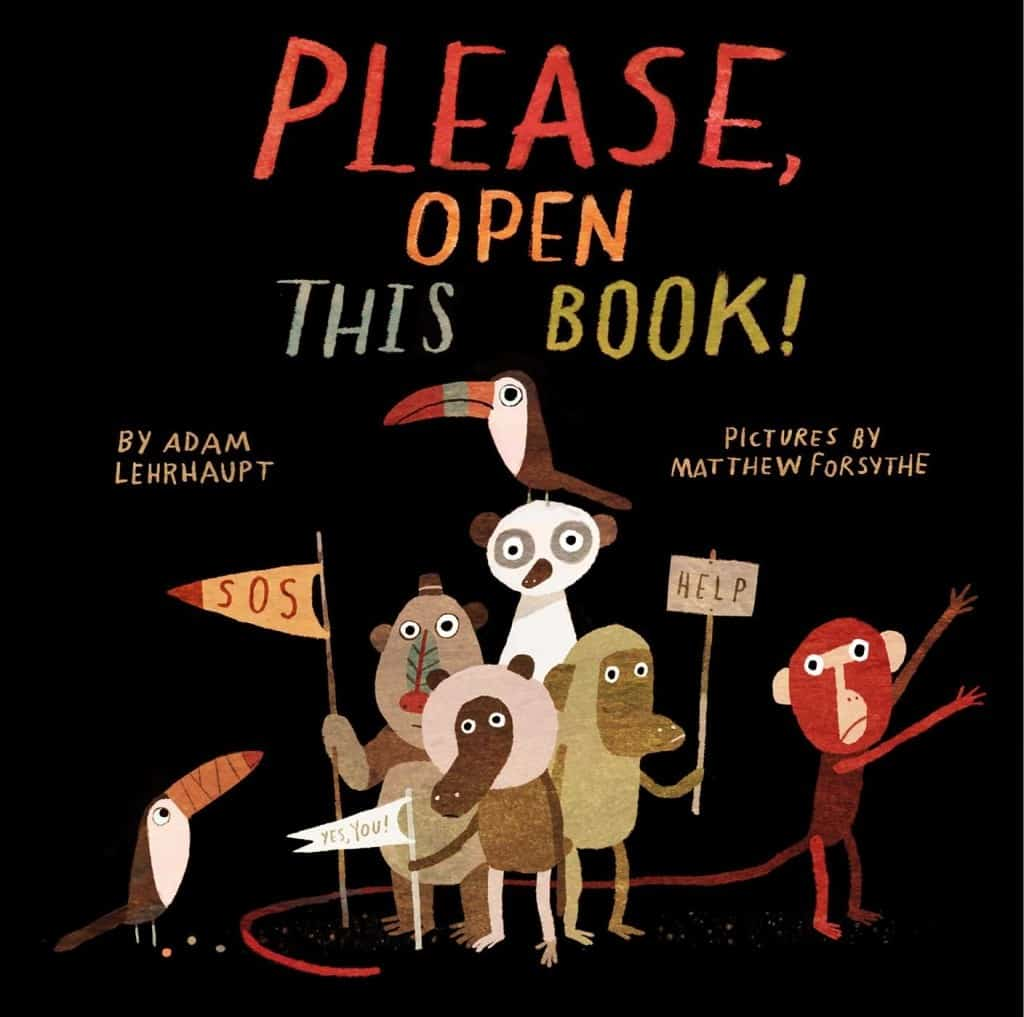 Great Interactive Books for Preschoolers & Toddlers: Please, Open This Book