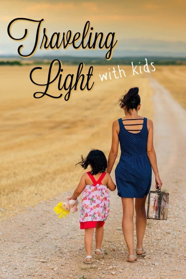 Our Essentials for Traveling Light with Young Kids