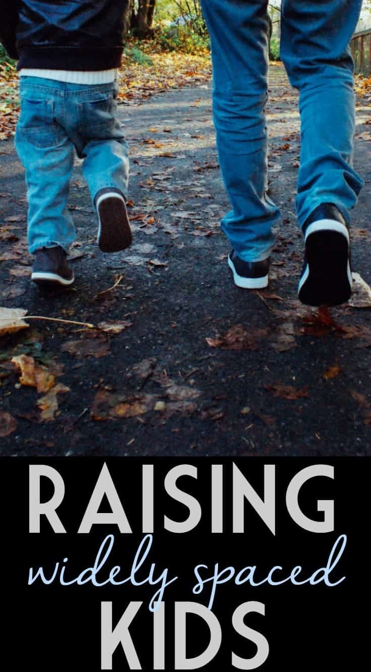 Survival Tips for Raising Kids with a Large Age Gap