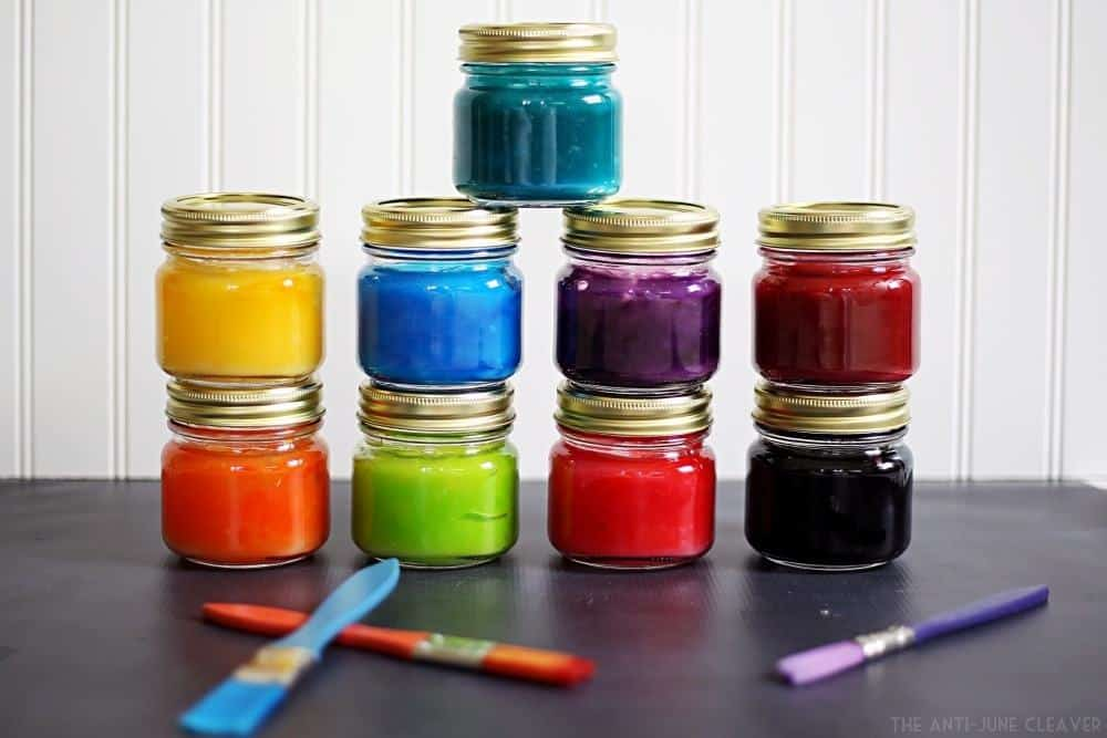 DIY Homemade Finger Paint Recipe #Clean2TheCore AD