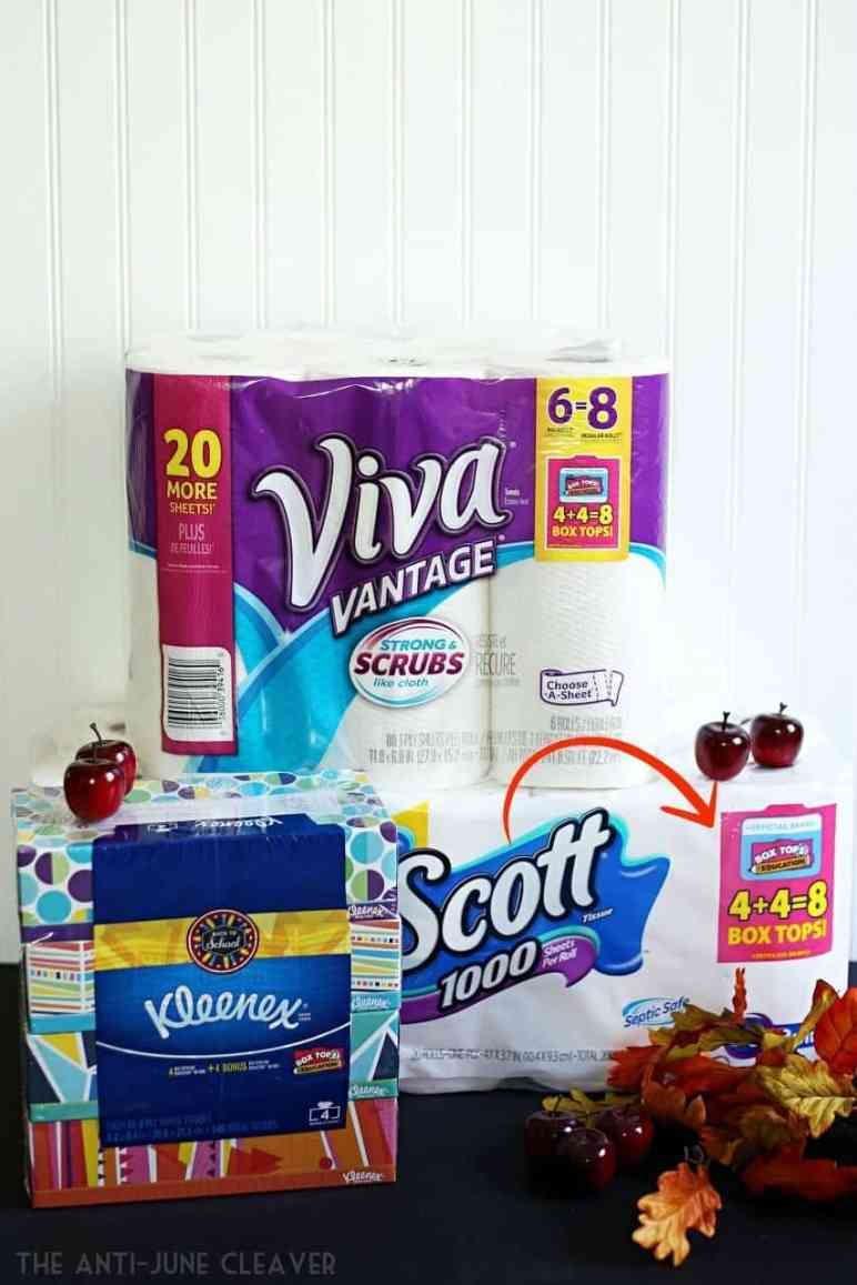 Earn double box tops on everyday products at Walmart #EarnDoubleAtWalmart AD