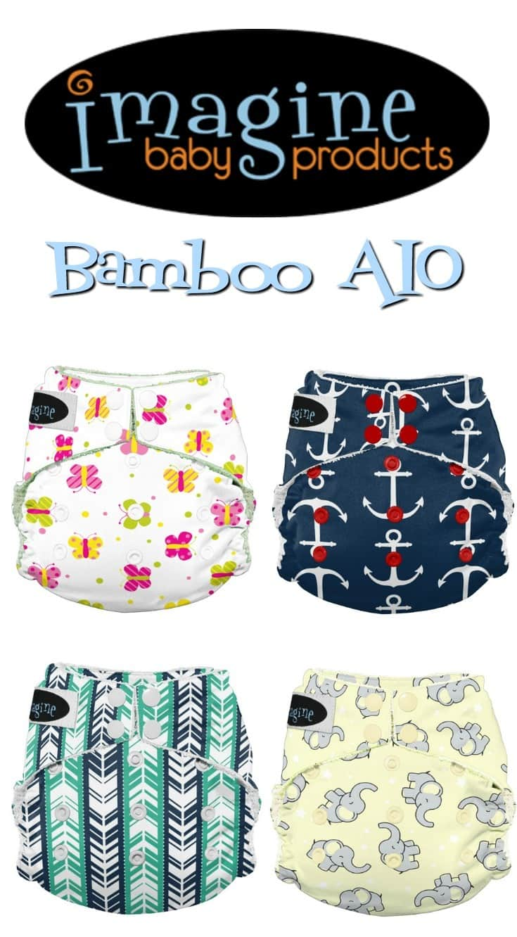 Imagine Baby Bamboo AIO Cloth Diaper Review