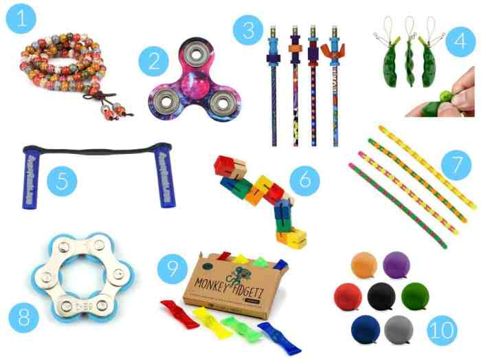 Our favorite fidgets - ADHD, SPD, Autism, Anxiety