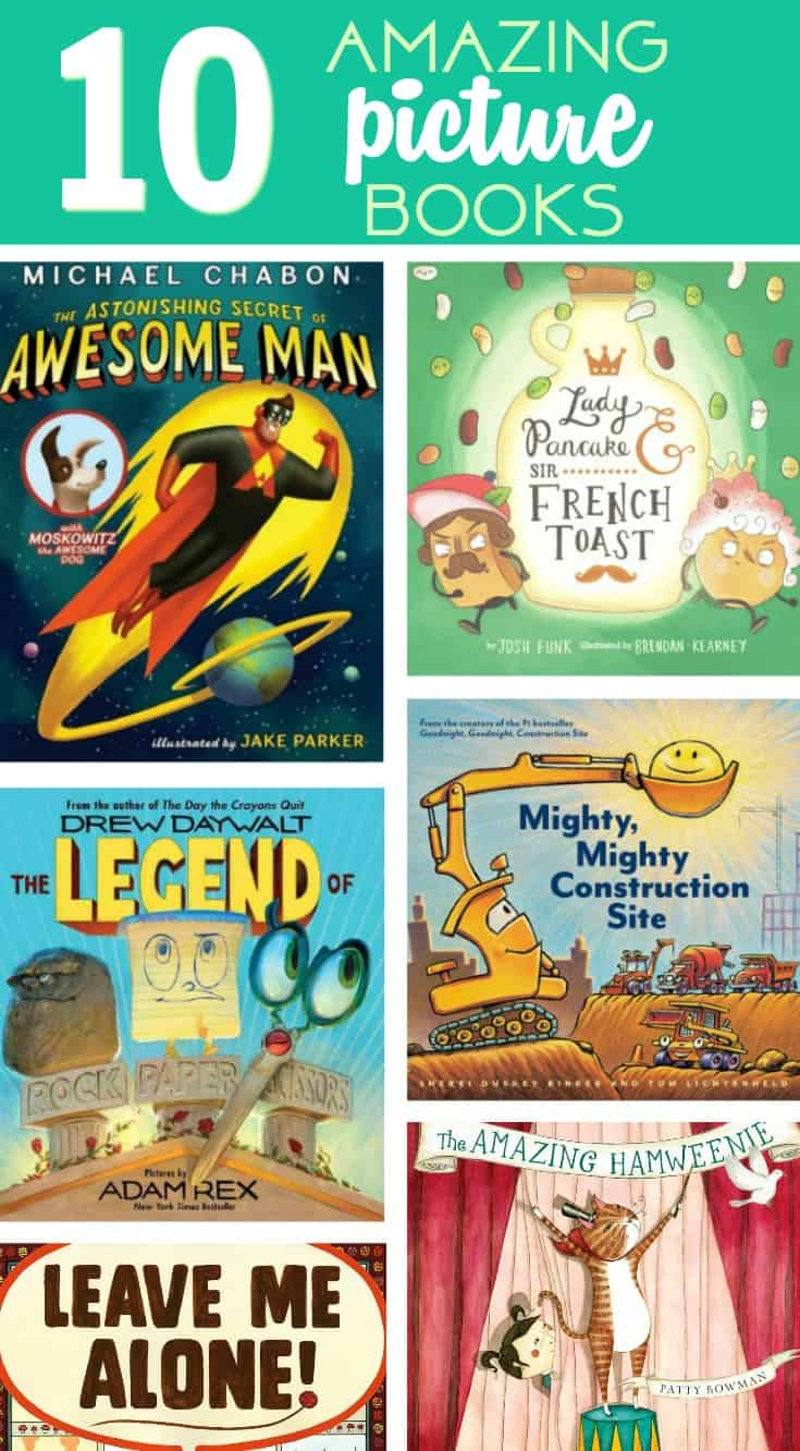 Celebrating Children's Book Week with 10 New Favorite Books
