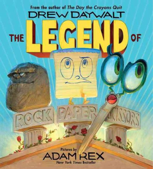 Celebrating Children's Book Week with 10 New Favorite Books - The Legend of Rock Paper Scissors