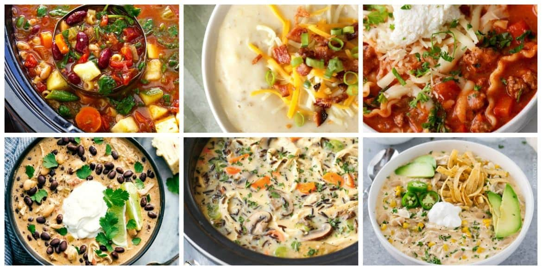 Comforting Slow Cooker Meals - Soups #crockpot #slowcooker #soup #slowcookersoups #crockpotsoups #crockpotmeals #slowcookermeals