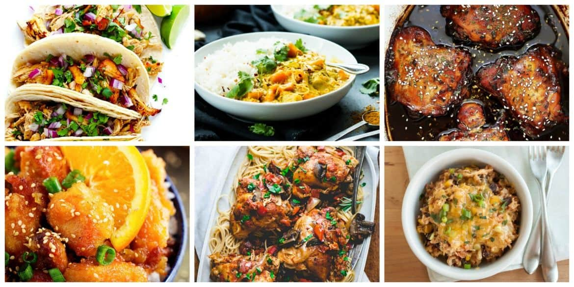 Comforting Slow Cooker Meals - Chicken Recipes #crockpot #slowcooker #chicken #crockpotchicken #crockpotmeals #slowcookermeals