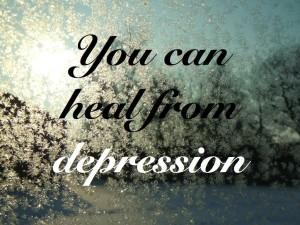 overcome depression natural ways
